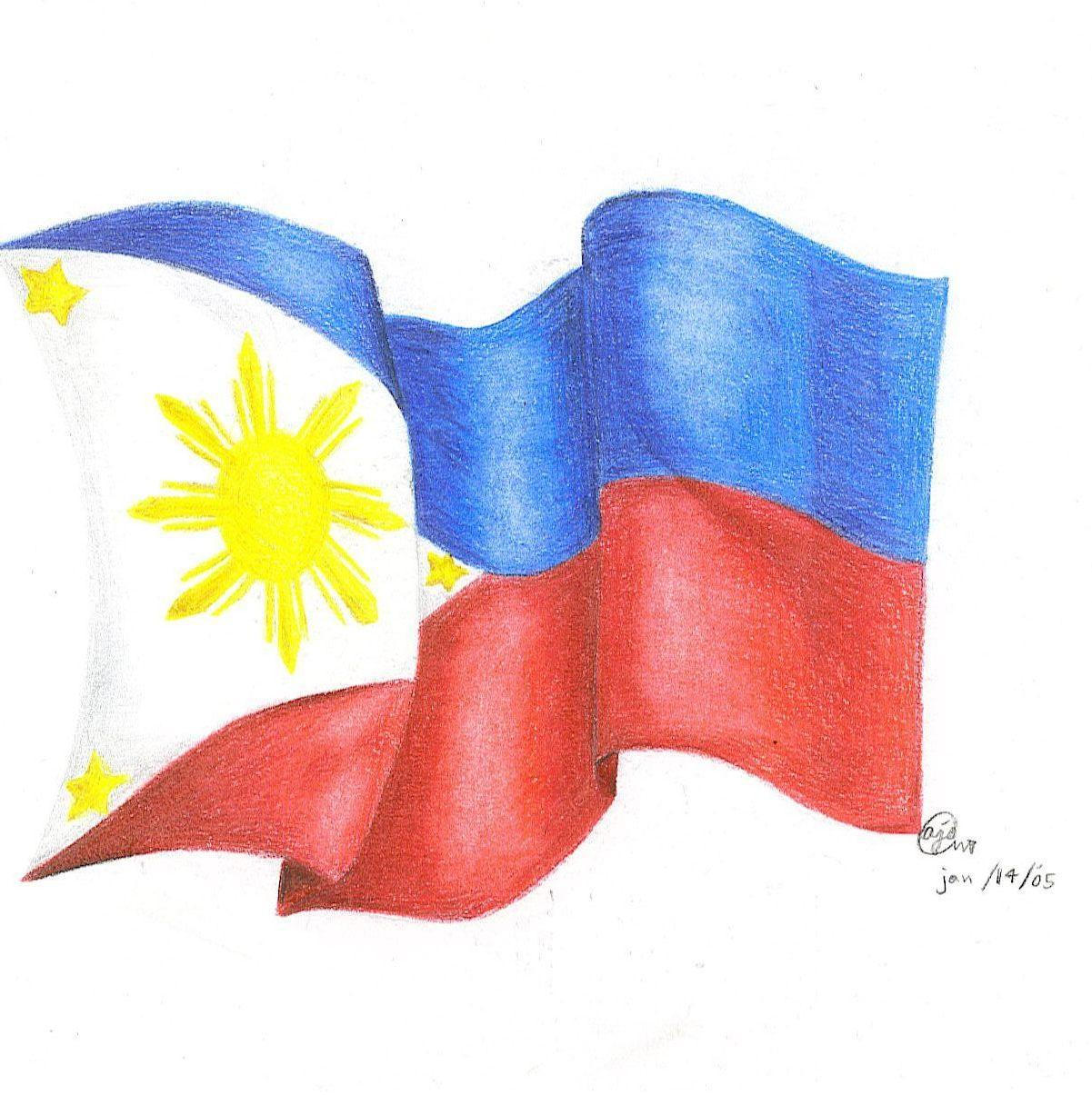 The Flag Of Philippines By XBrooklyNx On DeviantArt