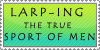 LARPing Stamp by Shelly-oneechan