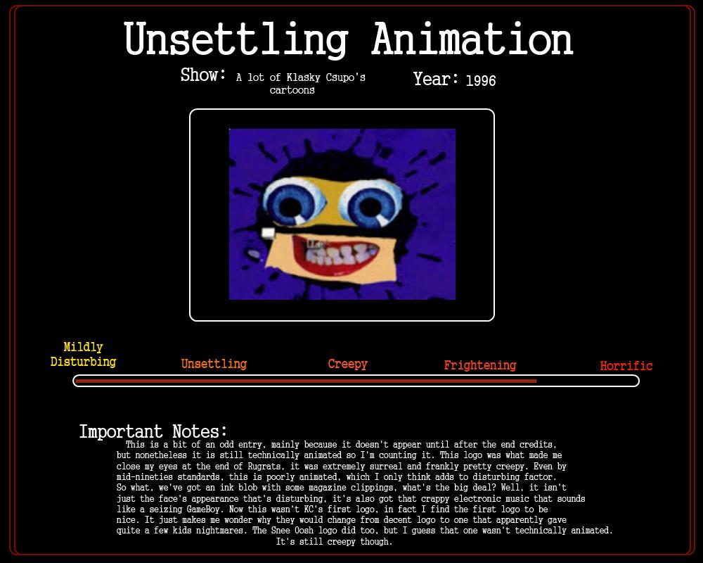 Klasky Csupo Face Animation Klasky Csupo