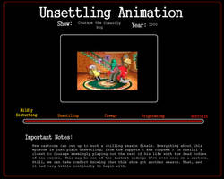 Unsettling Animation: The Great Fusilli