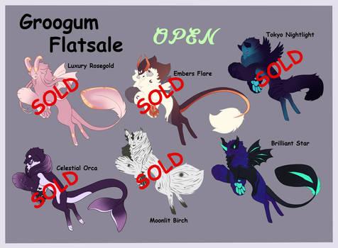 Flatsale batch Groogum - OPEN