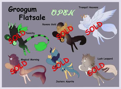 Flatsale batch - Groogum Adoptables - OPEN