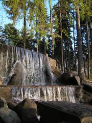 Skaryszewski Park - Waterfall4