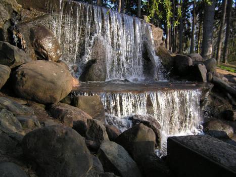 Skaryszewski Park - Waterfall5