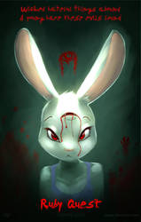 Ruby quest - Teaser poster 1 by Dawkz