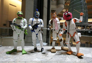 Muppet Troopers DragonCon 2013