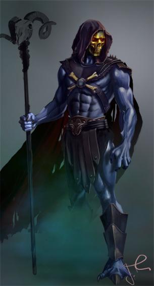 Skeletor by garygillmore