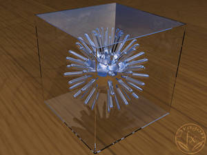 3D thing in a crystal box
