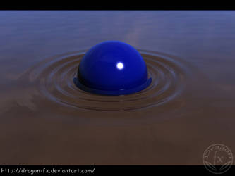 The Ball and the Water by DragoN-FX
