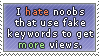 Hate noobs Stamp by DragoN-FX