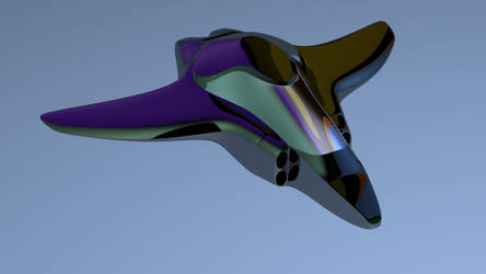 Spaceship-like model by DragoN-FX