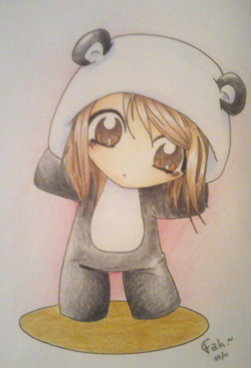Panda by Kireyanna