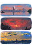 Seoul Sunsets