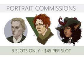 Portrait Commissions [OPEN]