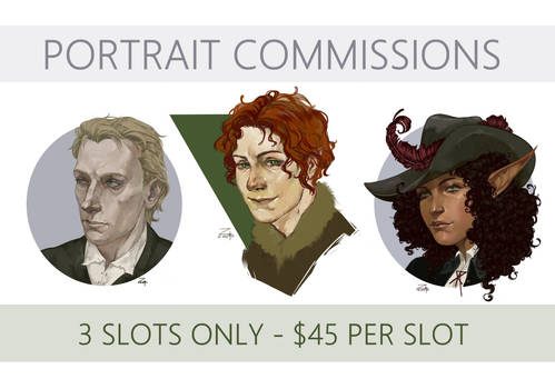 Portrait Commissions [OPEN]
