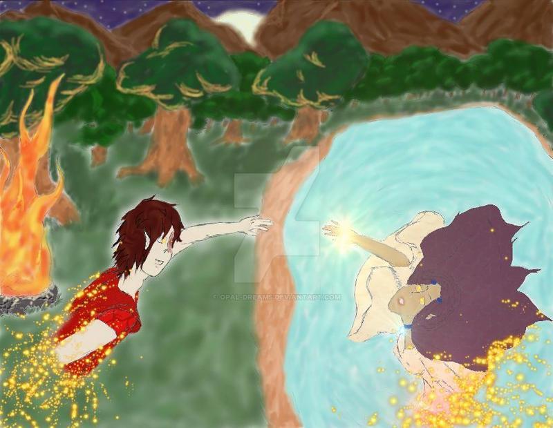 Fireflies Zutara Week 2009 C 2 by Opal-Dreams