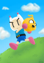 Finn the Bomberman by P3T3B3
