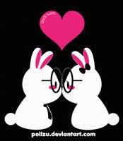Geek Love Bunnies by Poiizu