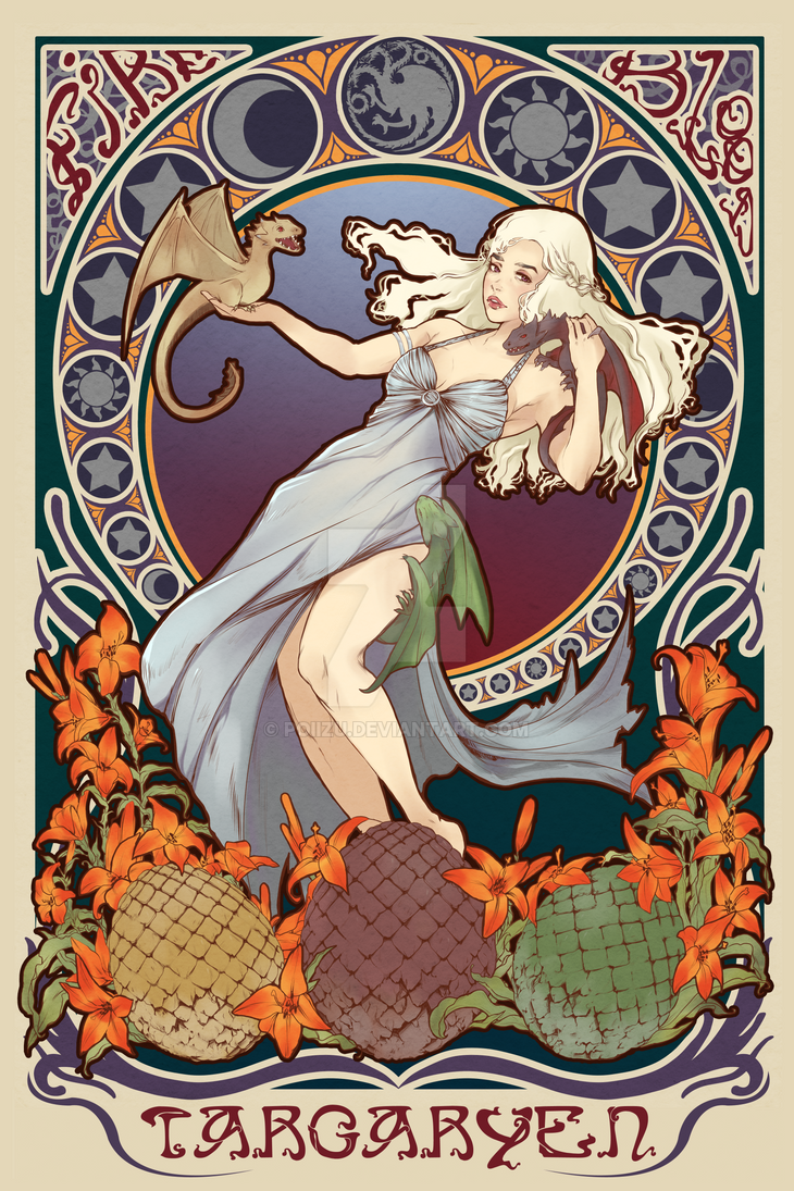 Mother of Dragons by Poiizu