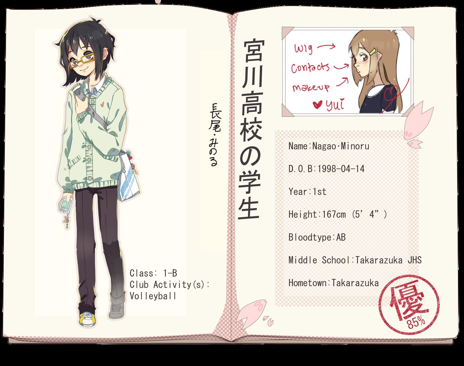 MH App - Nagao Minoru by Poiizu