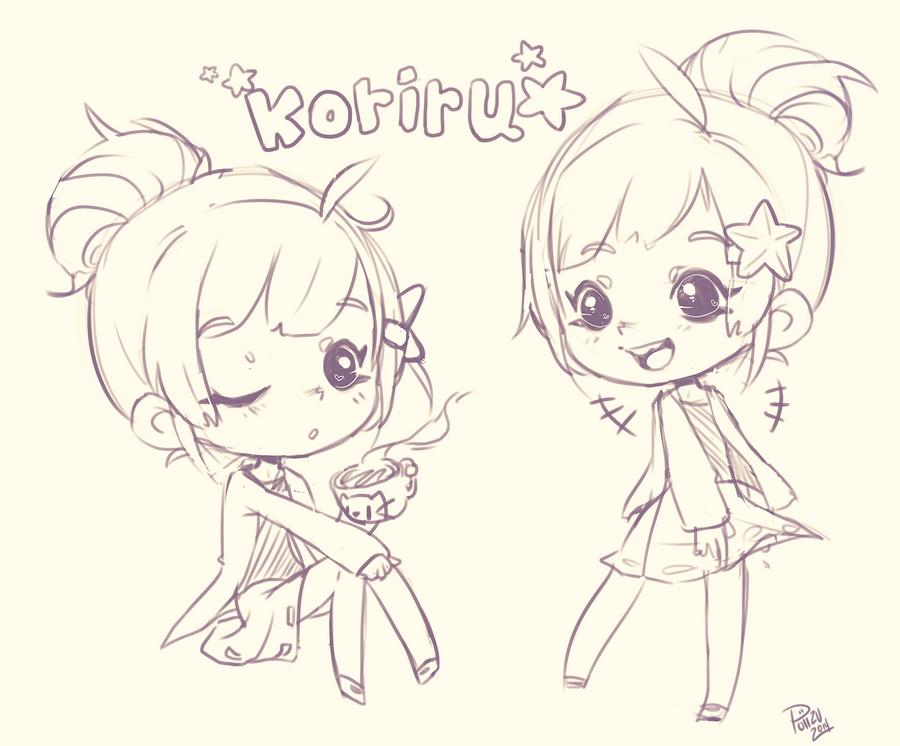 Sketch for Koriru by Poiizu