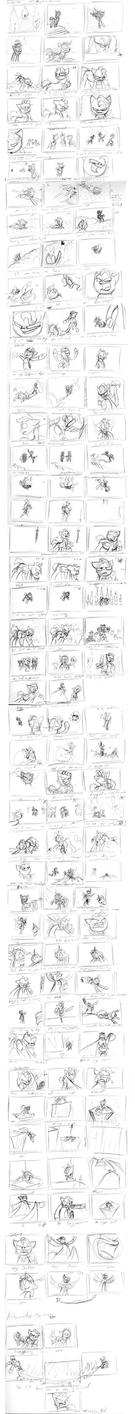 Hell To Your Doorstep: Original Storyboard by Assassin-or-Shadow