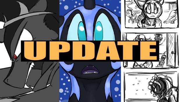 Update plus SNEAK PEEK (video)