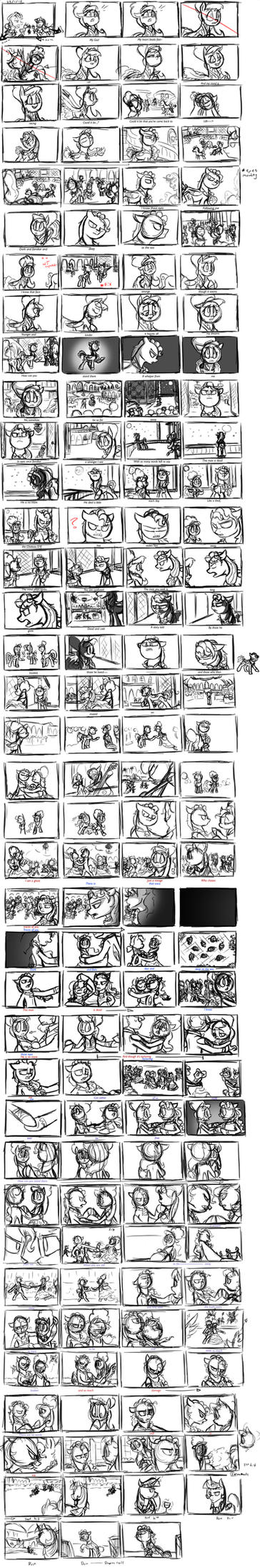 I Know Those Eyes: Original Storyboard by Assassin-or-Shadow