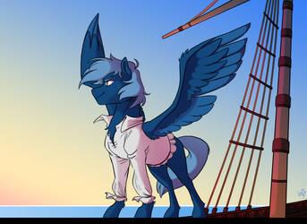 Commission: Sailor Pony
