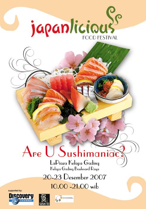 Festival Japan Food Poster By MissfLc