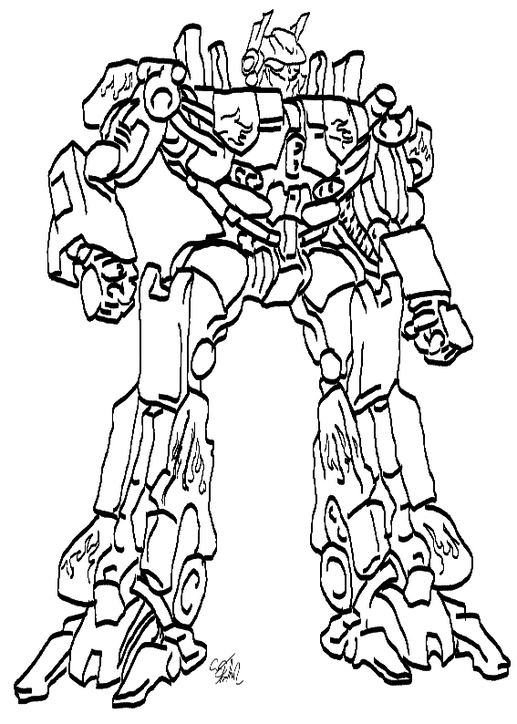 transformer optimus prime coloring pages - photo#34