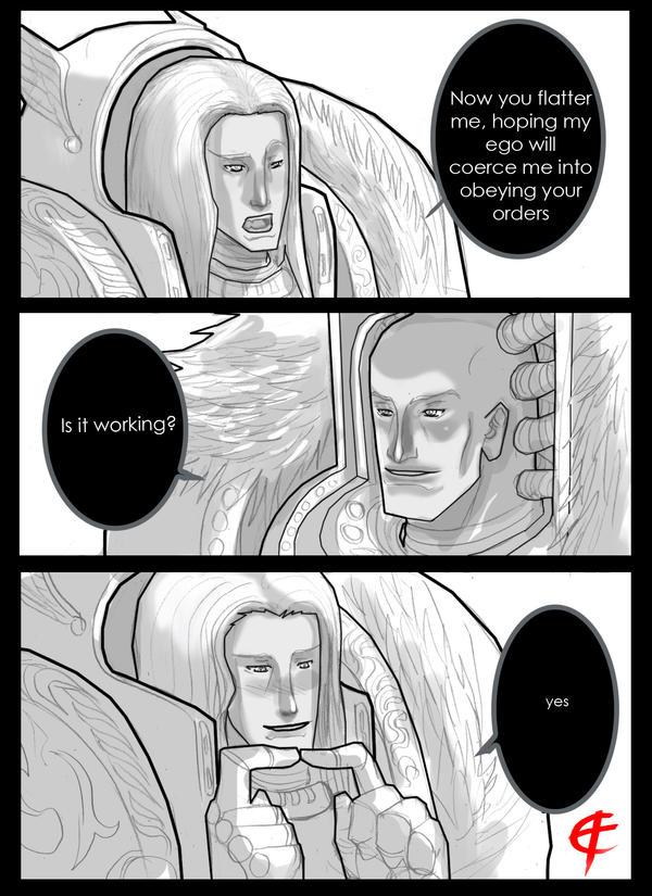 Fulgrim X Horus by DeadXCross