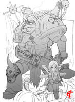 Chaos is Strong WIP by DeadXCross