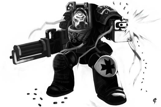 Black Templar Terminator