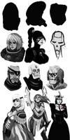 W40k Face Study by DeadXCross