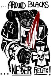 Black Templar Sword Brother by DeadXCross