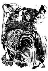 40k midnight scribbles 02 by DeadXCross