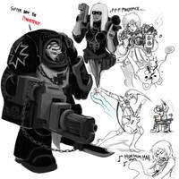Paint chat 40k 3 by DeadXCross
