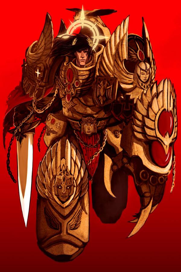 [Fluff] L'Empereur-Dieu de l'Humanité - Page 4 God_emperor_by_deadxcross-d30lhk2