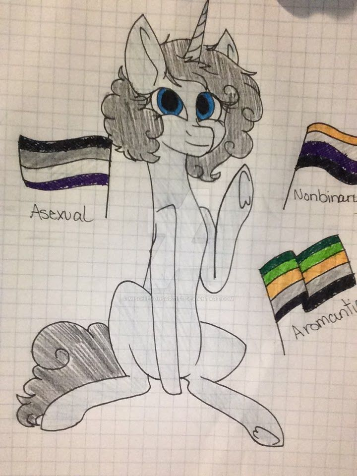 Myself as a pony and all that I am by MischievousArtist