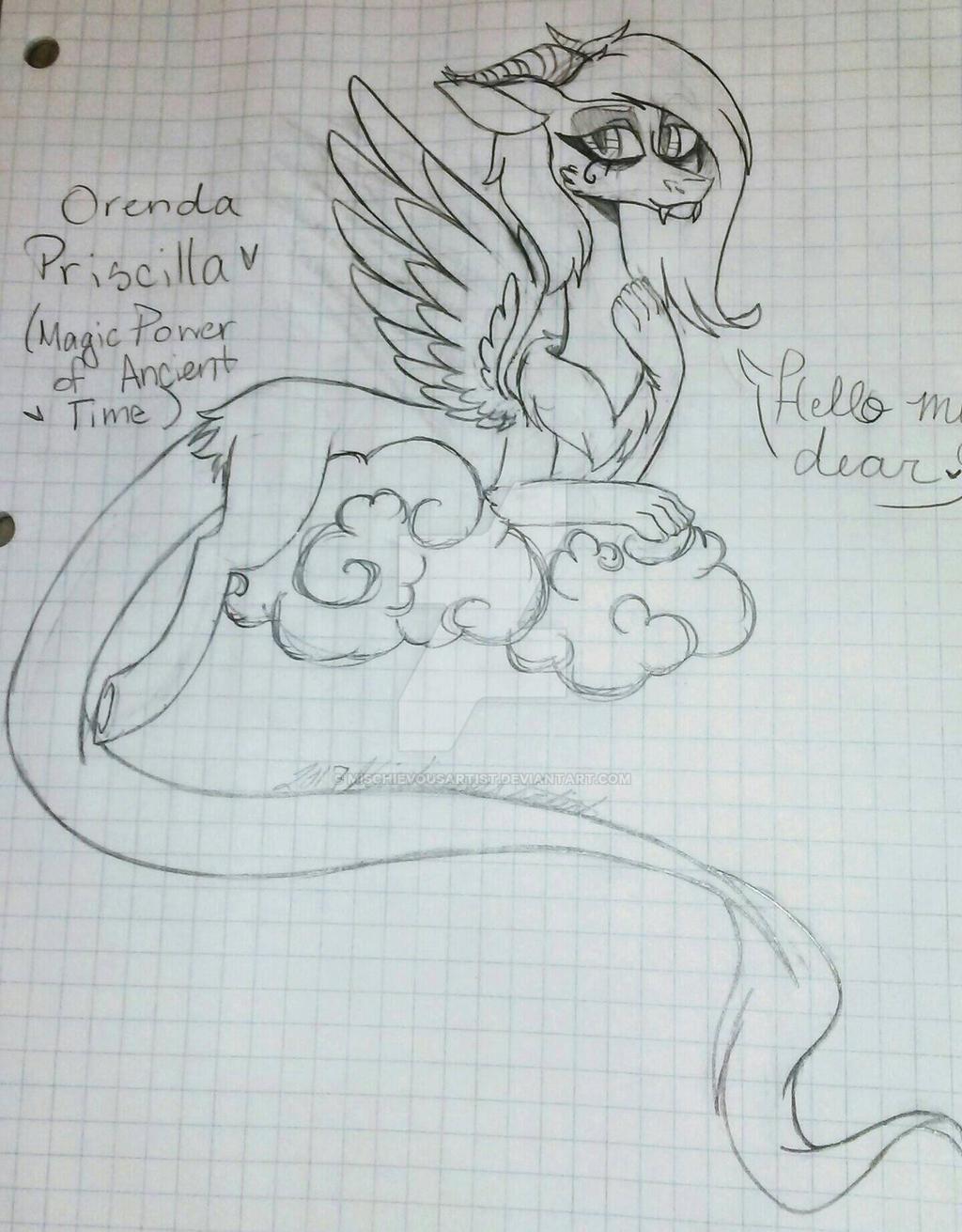 Orenda Priscilla  by MischievousArtist