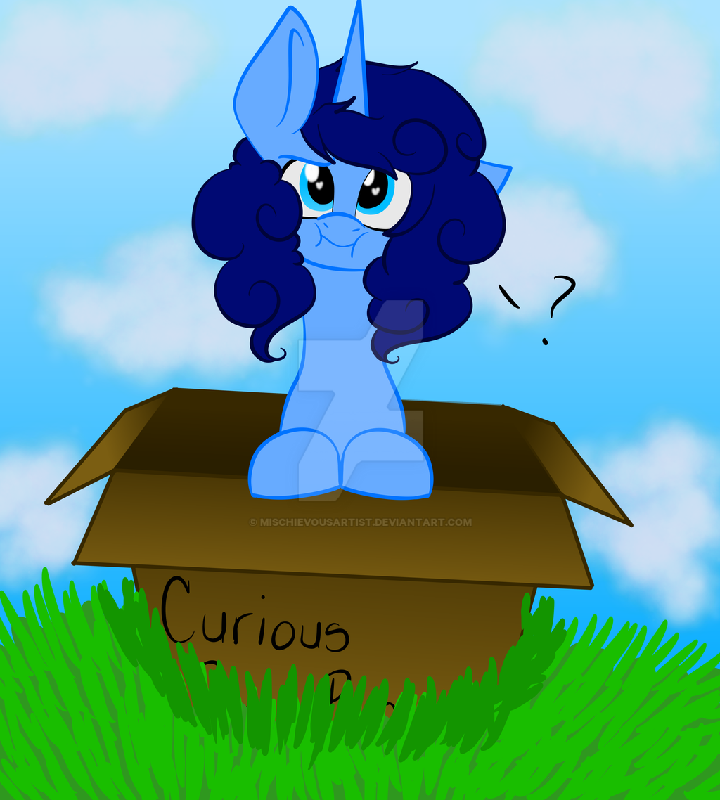 Curious Pony Box by MischievousArtist