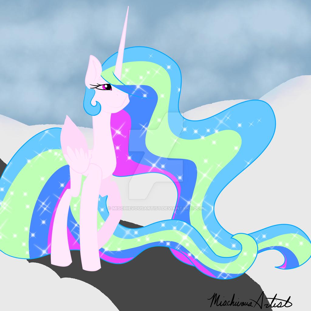 Snowy day by MischievousArtist