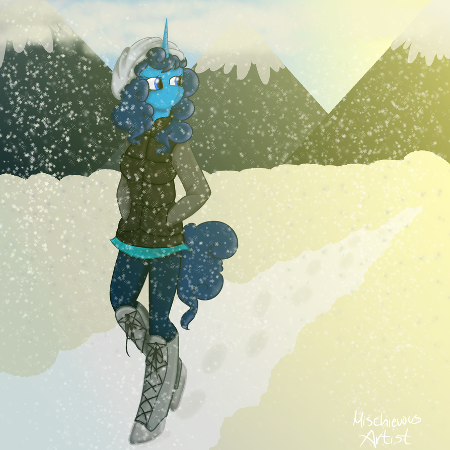 Winter Stroll by MischievousArtist