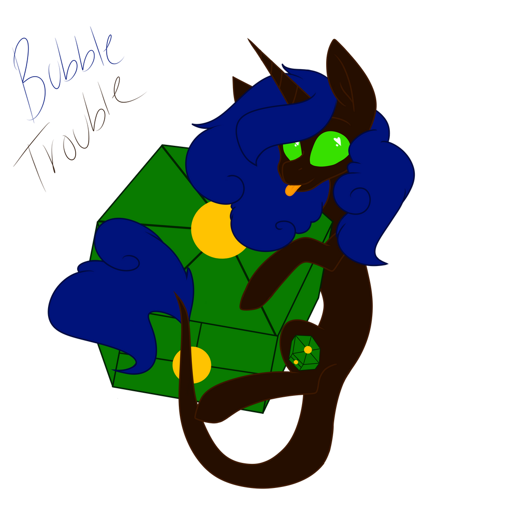 Chibi Bubble Trouble by MischievousArtist