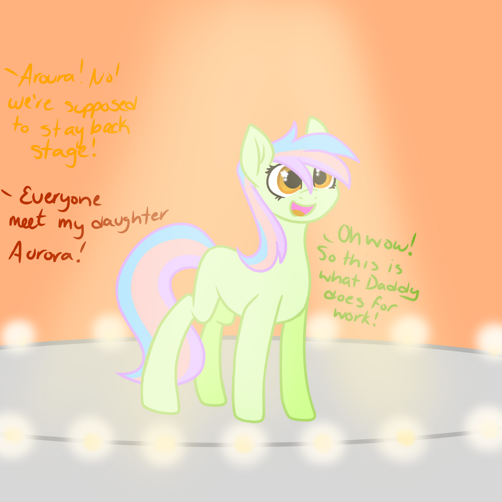 Aurora's First Debut by MischievousArtist