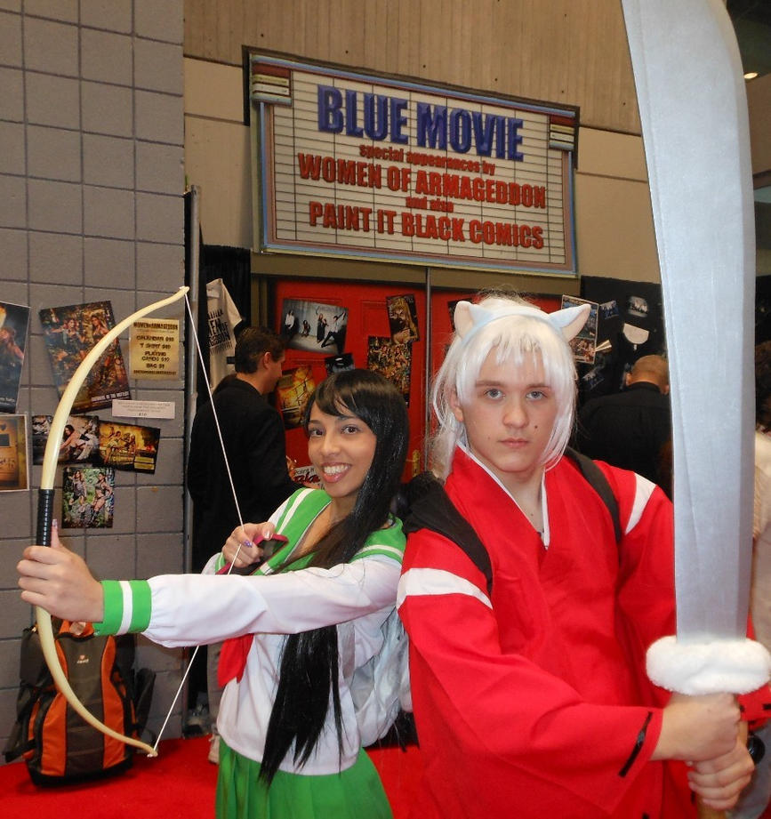 Kagome and Inu Yasha by LexCorp213