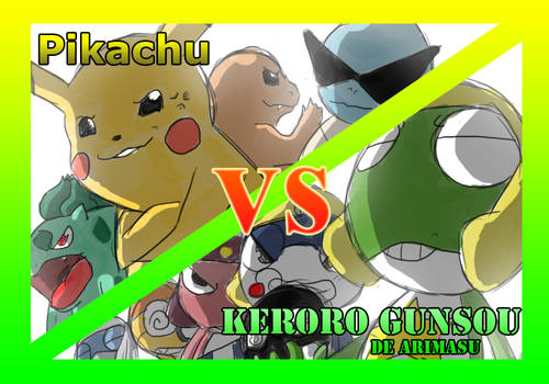 Pokemon vs Sgt Frog