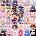Pixel Icon (almond) June-July 2020