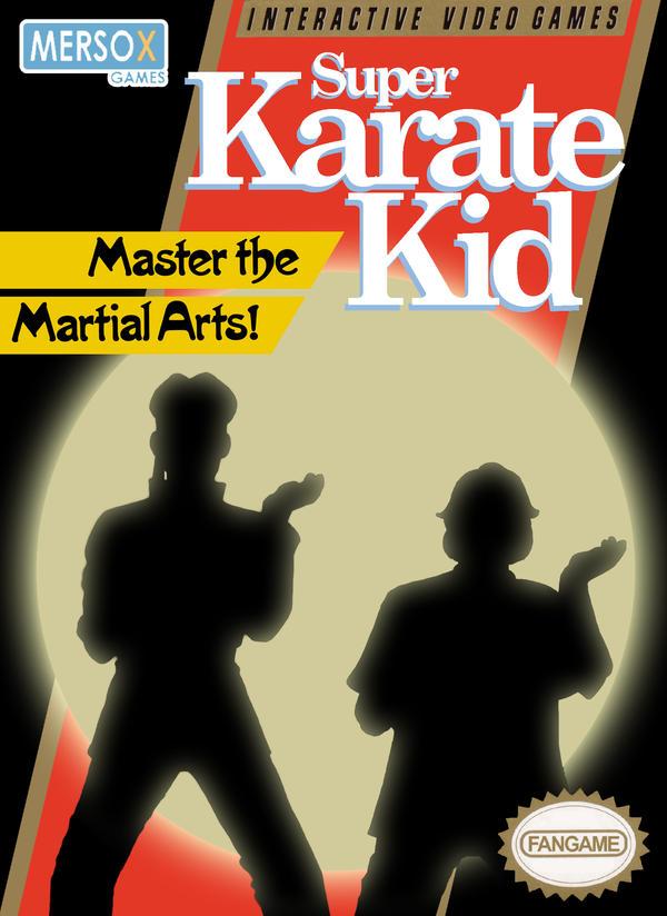 Super Karate Kid box art